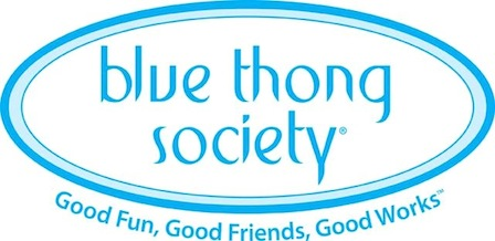 Blue Thong Society logo