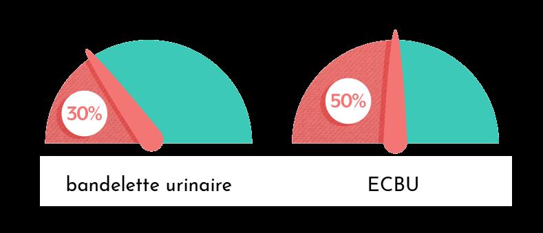 Fiabilité de l'ECBU et de la bandelette pour diagnostiquer une infection urinaire
